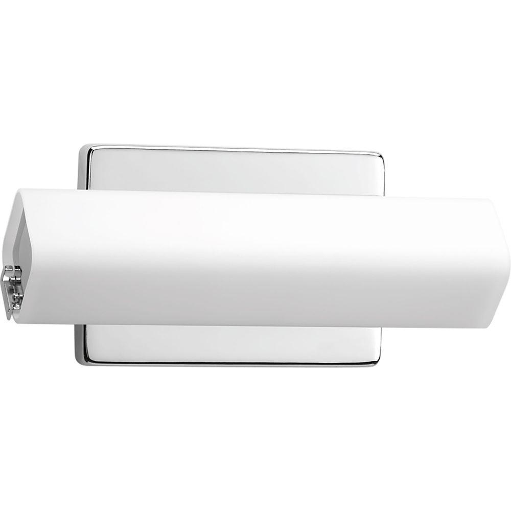 Wedge Collection 1-light Polished Chrome LED Bath Light