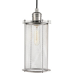 Industrial Collection 1-light Galvanized Pendant