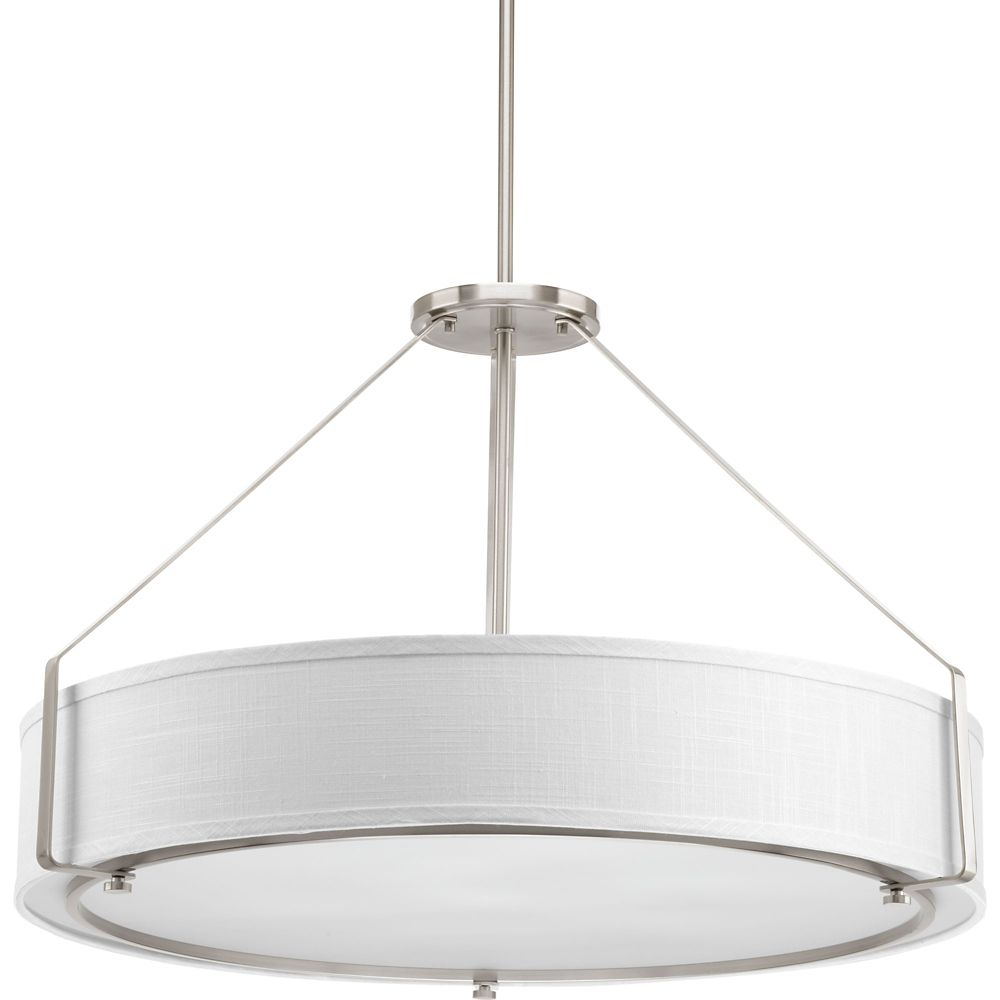 Progress Lighting Ratio Collection 6-light Brushed Nickel Pendant