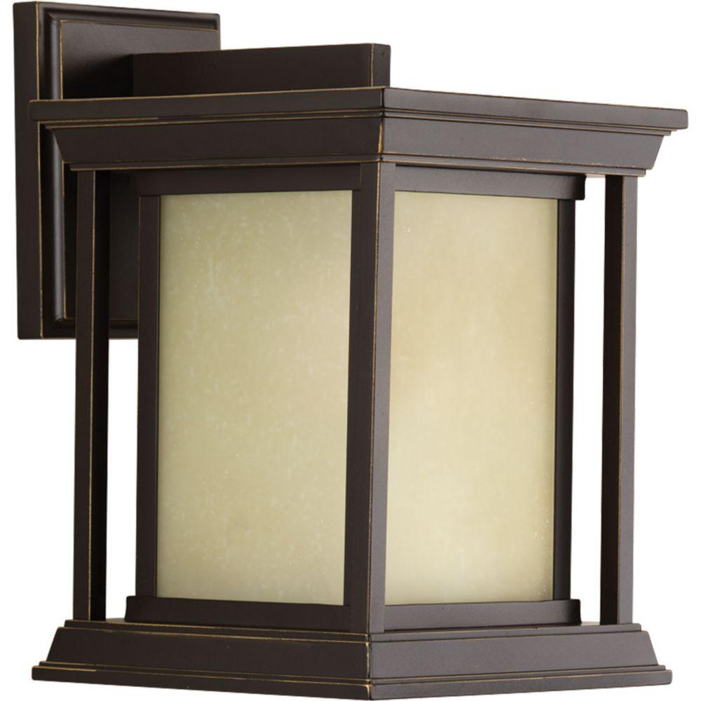 Endicott Collection 1-light Antique Bronze Wall Lantern