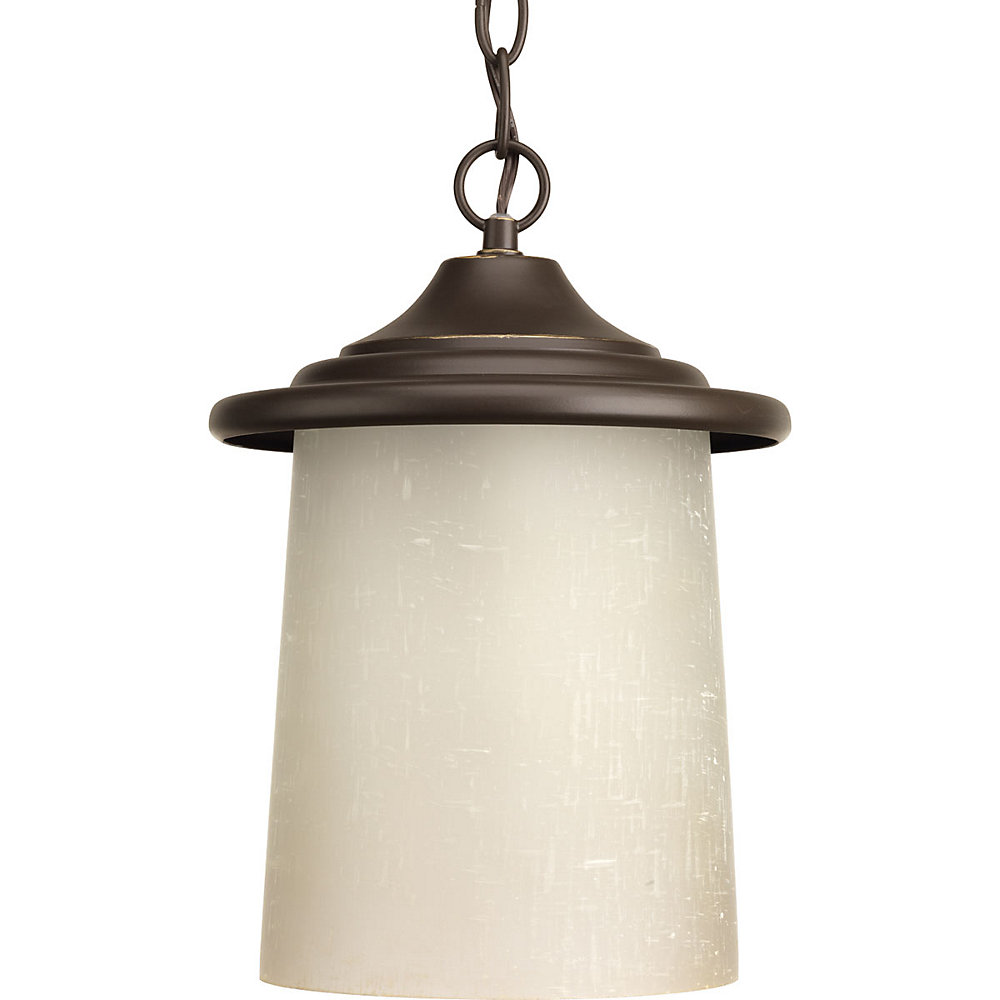 Essential Collection 1-light Antique Bronze Hanging Lantern