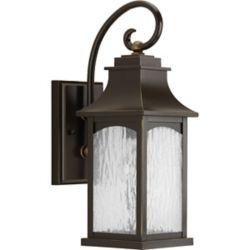 Progress Lighting Maison Collection 1-light Oil Rubbed Bronze Wall Lantern