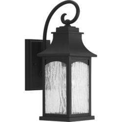 Progress Lighting Maison Collection 1-light Black Wall Lantern