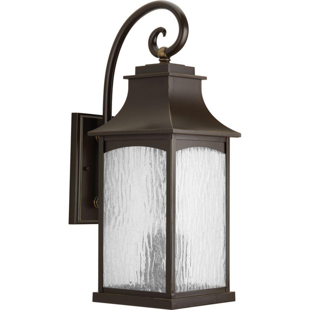 Progress Lighting Maison Collection 3-light Oil Rubbed Bronze Wall Lantern