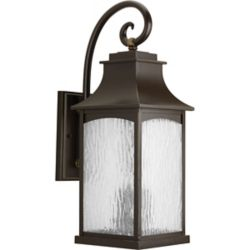 Progress Lighting Maison Collection 3-light Oil Rubbed Bronze Wall Lantern