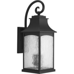 Progress Lighting Maison Collection 3-light Black Wall Lantern