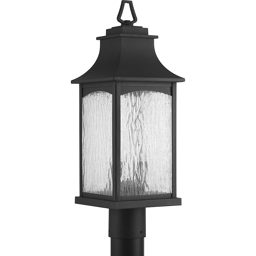 Maison Collection 2-light Black Post Lantern