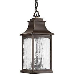 Progress Lighting Collection Maison – Lanterne suspendue à deuxampoules, bronze huilé