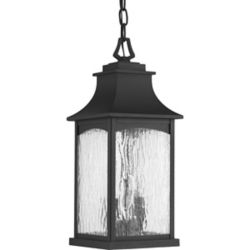 Progress Lighting Maison Collection 2-light Black Hanging Lantern