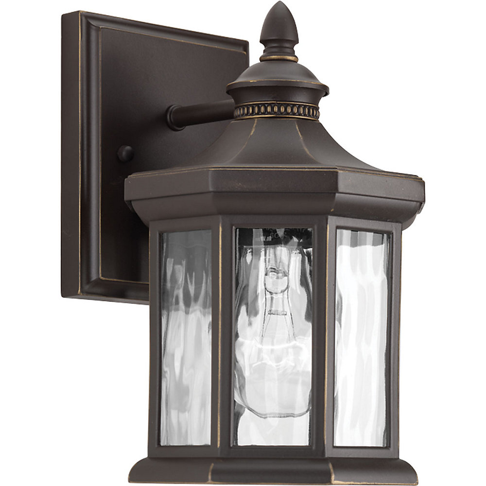 Edition Collection 1-light Antique Bronze Wall Lantern