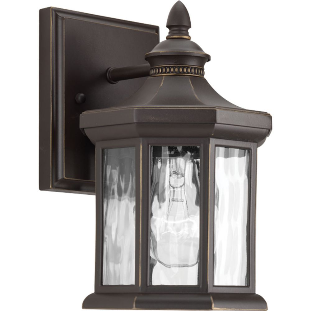 Progress Lighting Edition Collection 1-light Antique Bronze Wall Lantern