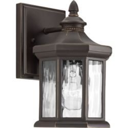 Progress Lighting Edition Collection 1-light Antique Bronze Wall Lantern
