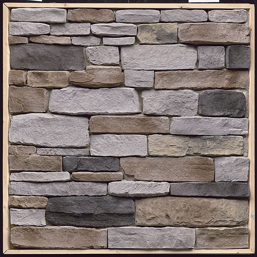 Stone veneer the home depot canada for Rock siding on house