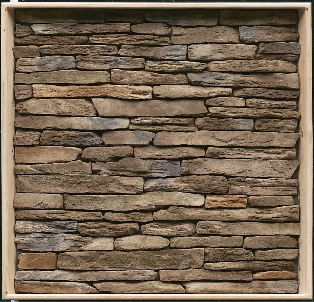 Stone Veneer Panels Home Depot : Stonecraft heritage pennsylvania flats sq feet the