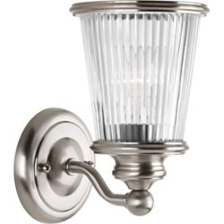 Progress Lighting Radiance Collection 1-light Brushed Nickel Vanity