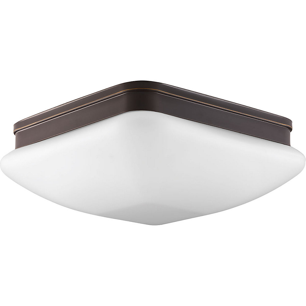 Appeal Collection 3-light Antique Bronze Flushmount