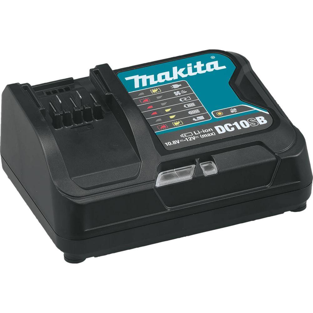 MAKITA 12V Max CXT Li-Ion Rapid Battery Charger