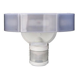 Defiant 270 Degree 3-Head White LED Motion Outdoor Security Light