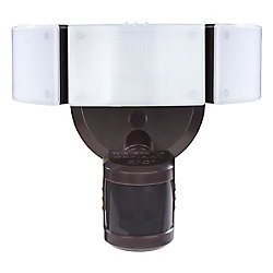 Defiant 270 Degree Bronze Motion Outdoor Integrated LED Security Light