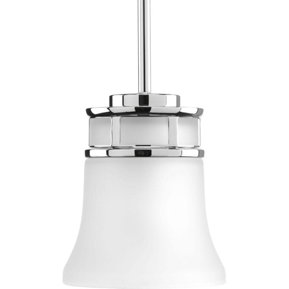 Progress Lighting Cascadia Collection 1-light Polished Chrome Mini-Pendant