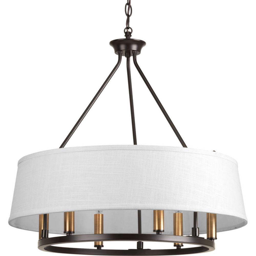 Lighting Collections For Whole House: Progress Lighting Turnbury Collection 6-light Galvanized