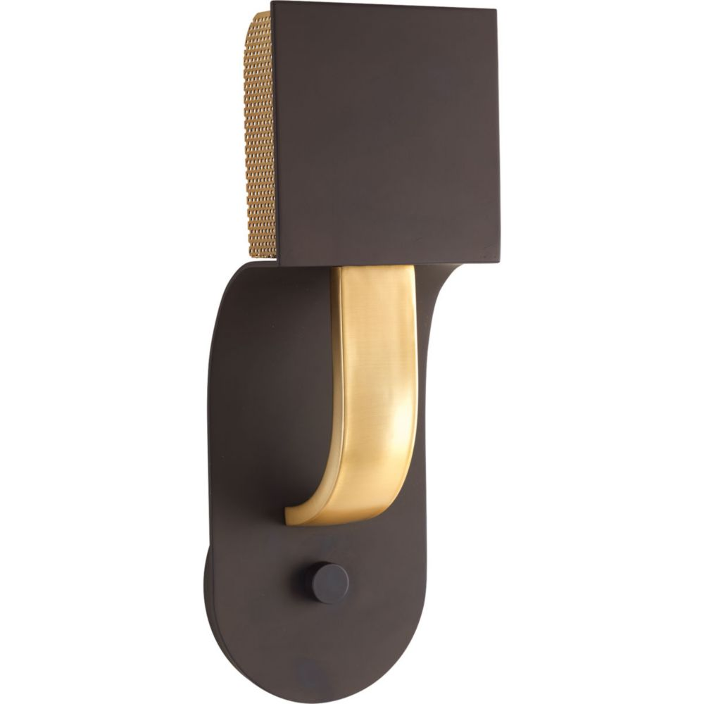 Progress Lighting Dash LED Collection 1-light Architectural Bronze LED Wall Sconce