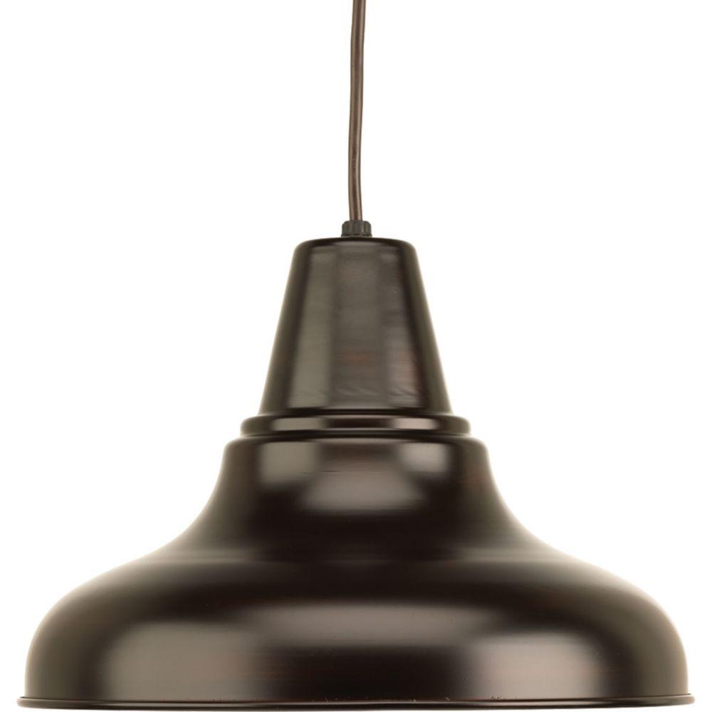 Progress Lighting District Collection 1-light Antique Bronze Hanging Lantern