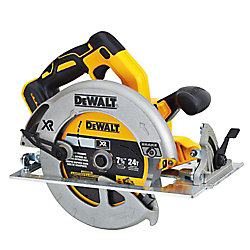DEWALT 20V MAX XR Lithium-Ion Cordless Brushless 7-1/4-inch Circular Saw with Brake (Tool-Only)