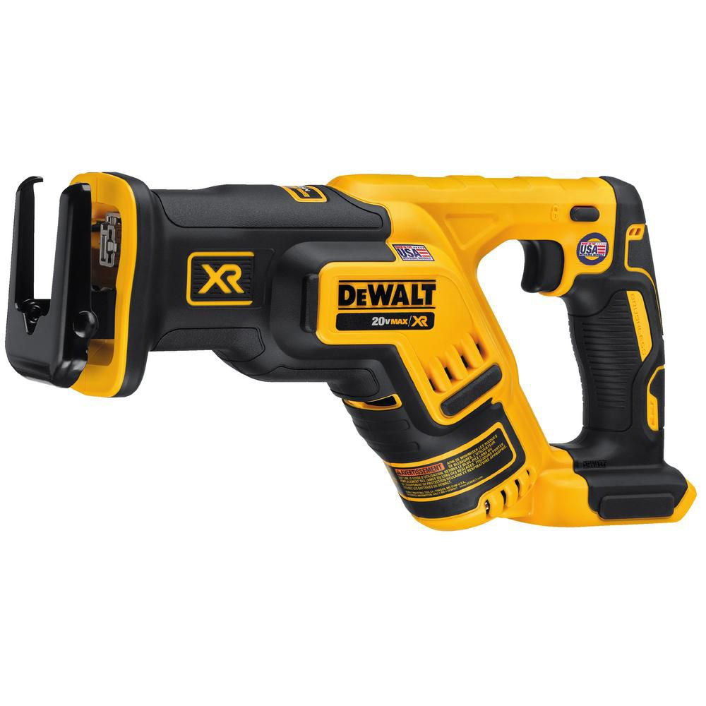 DEWALT 20V MAX XR Lithium-Ion Cordless Brushless Compact Reciprocating Saw (Tool-Only)