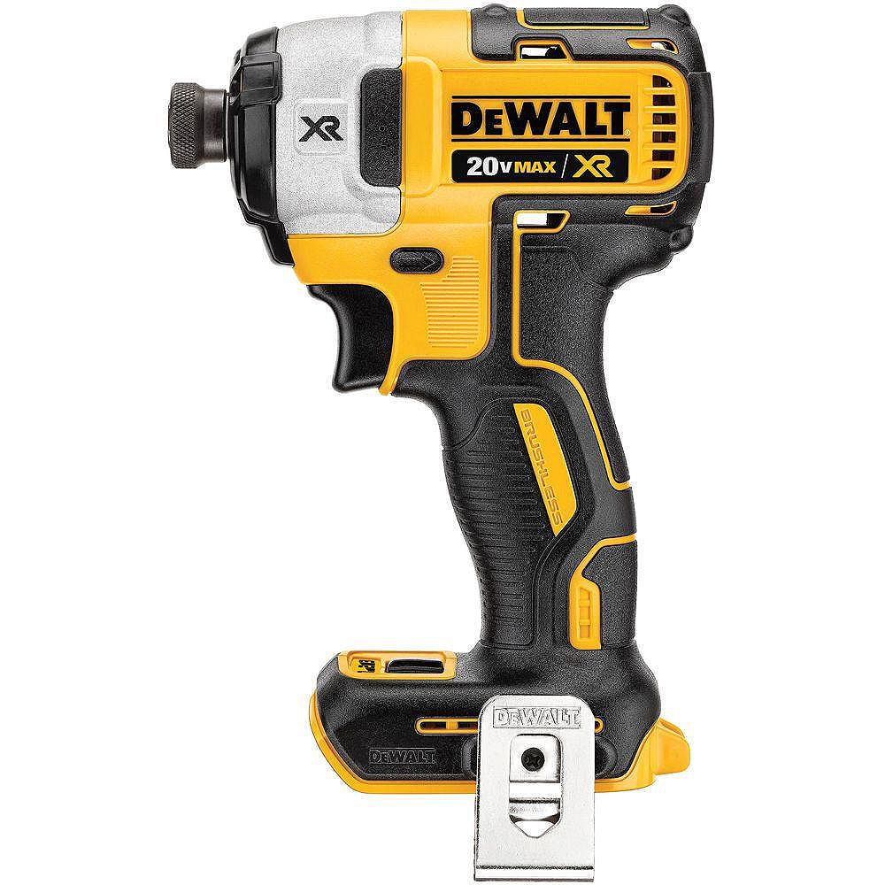 DEWALT 20V MAX XR Lithium-Ion Cordless Brushless 3-Speed 1/4-inch Impact Driver (Tool-Only)