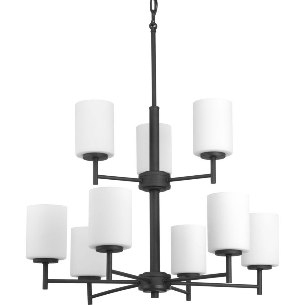 Replay Collection 9-light Black Chandelier