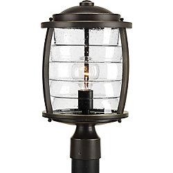 Progress Lighting Collection Signal Bay – Lampadaire à ampoule unique, bronze huilé
