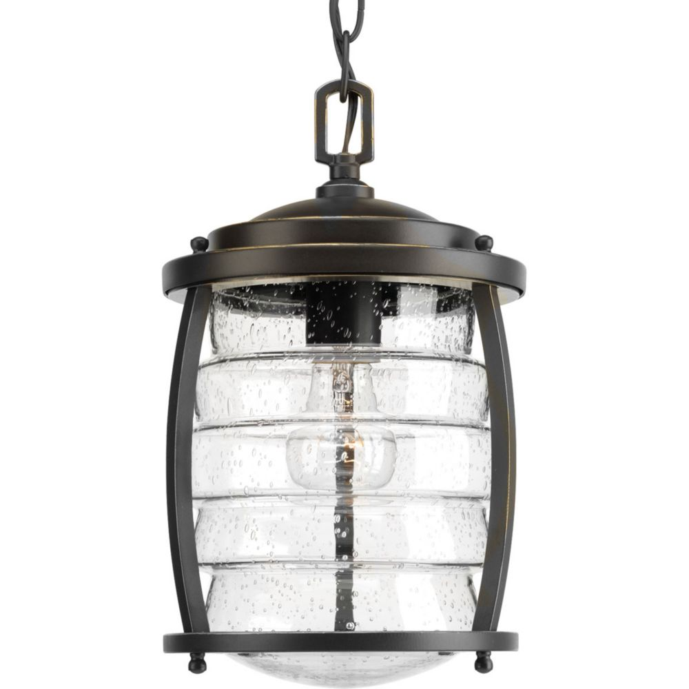 Signal Bay Collection 1-light Oil Rubbed Bronze Hanging Lantern