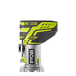 RYOBI 18V ONE+ Cordless Fixed Base Trim Router with Tool Free Depth Adjustment (Tool Only)