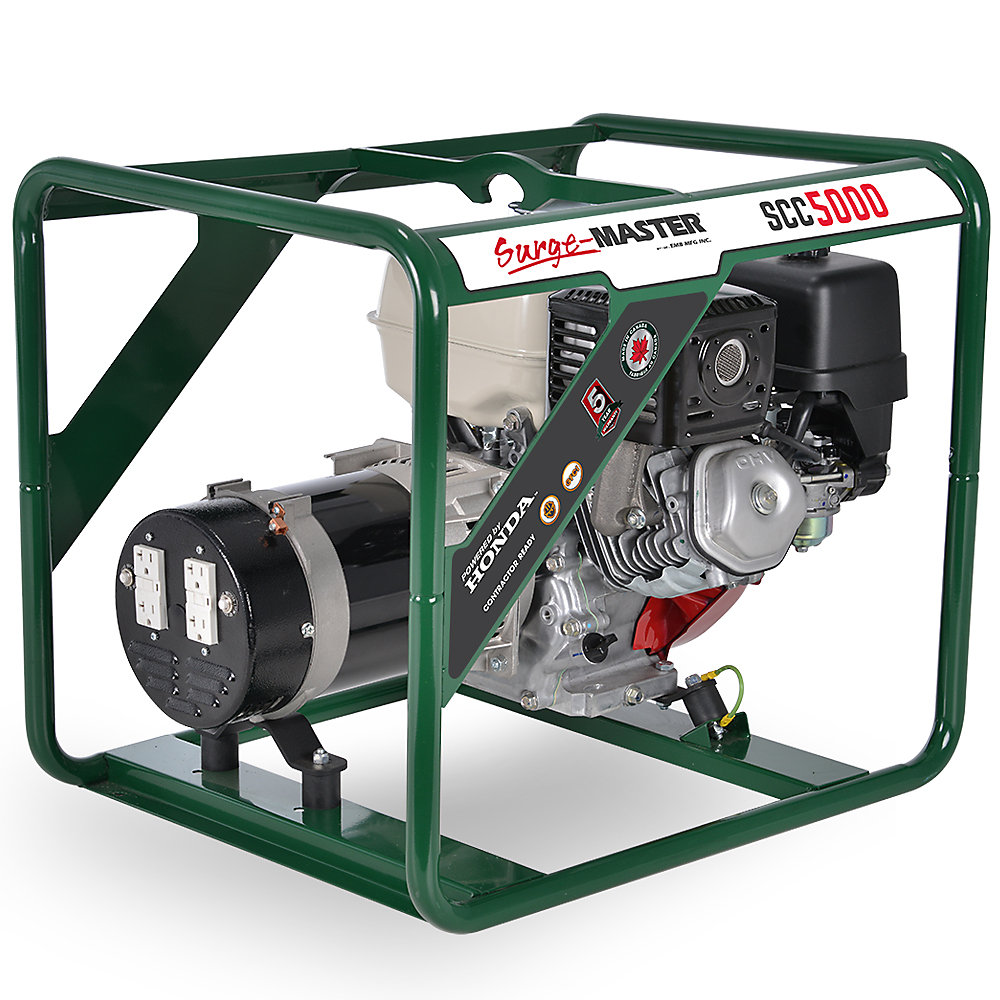 SCC5000 5000W Generator with Honda GX270 Engine