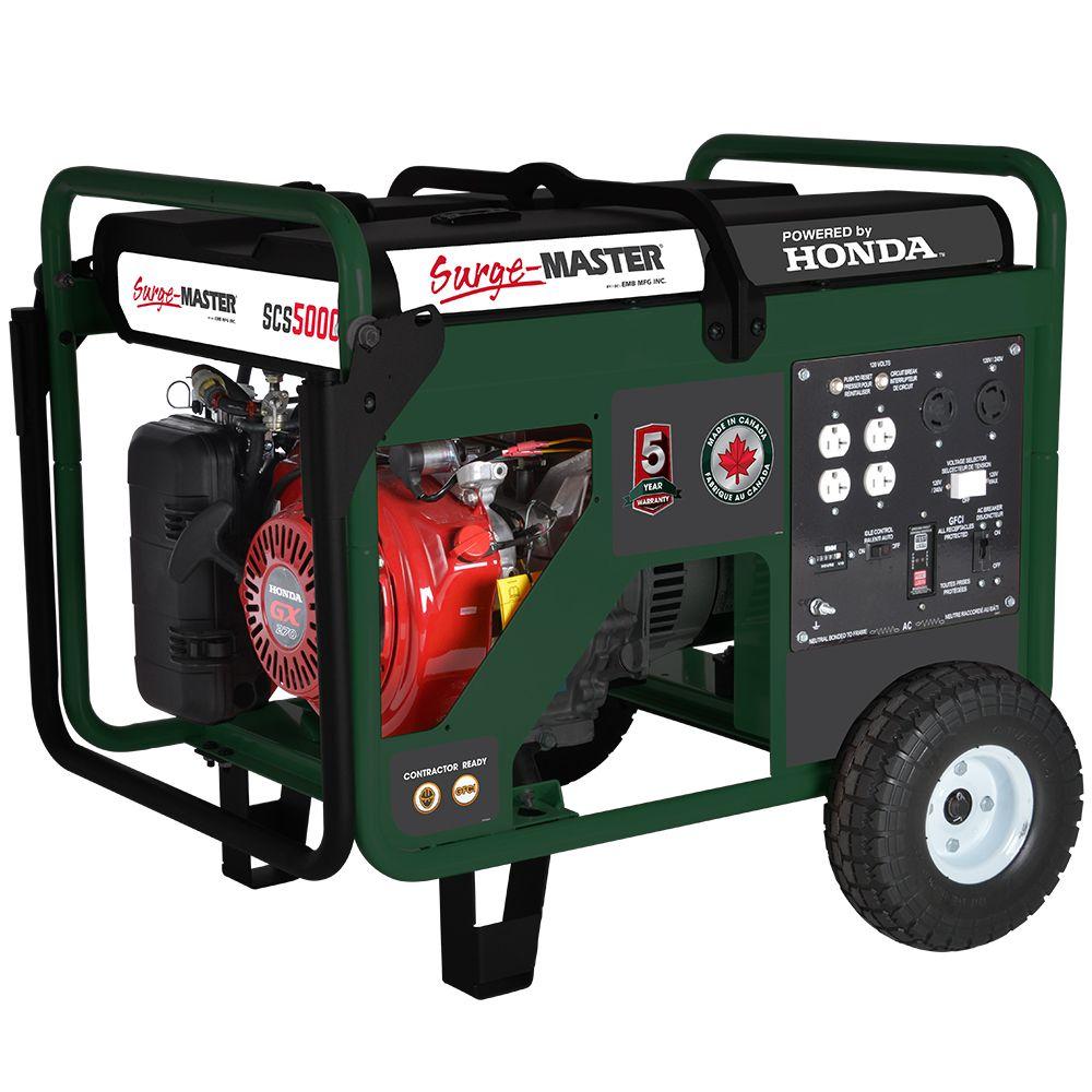 SCS5000 Generator 5000W W/ HONDA GX270