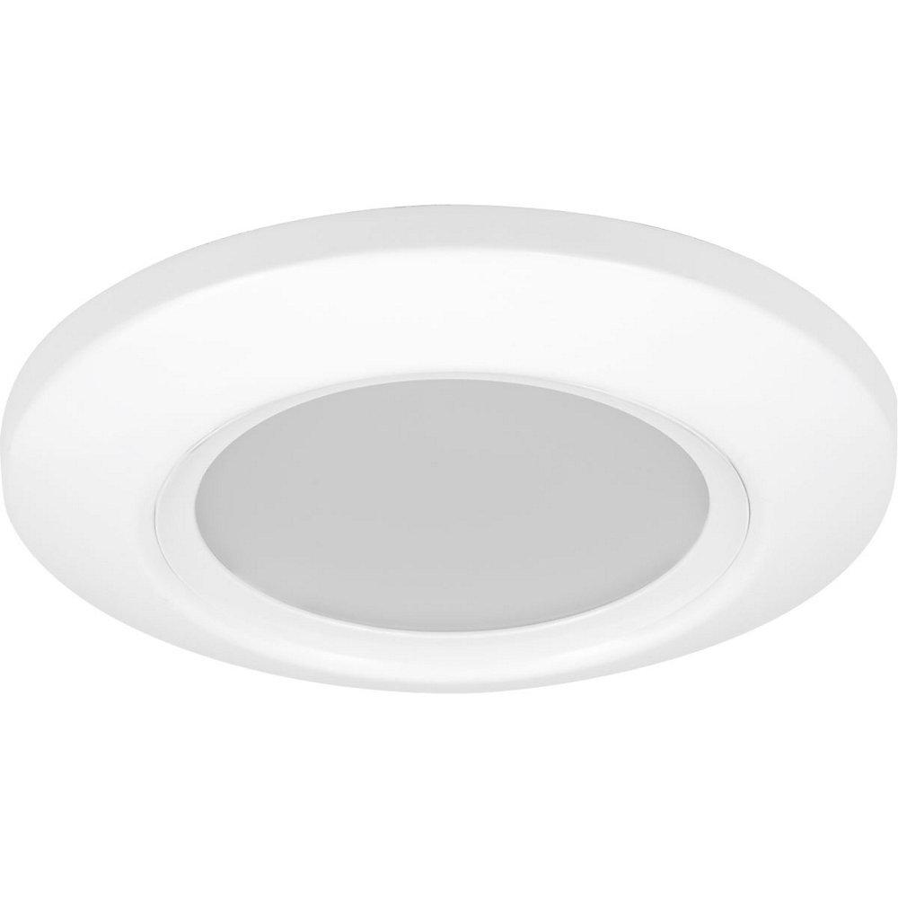 LED Flush Mount Collection 1-light White LED Flushmount