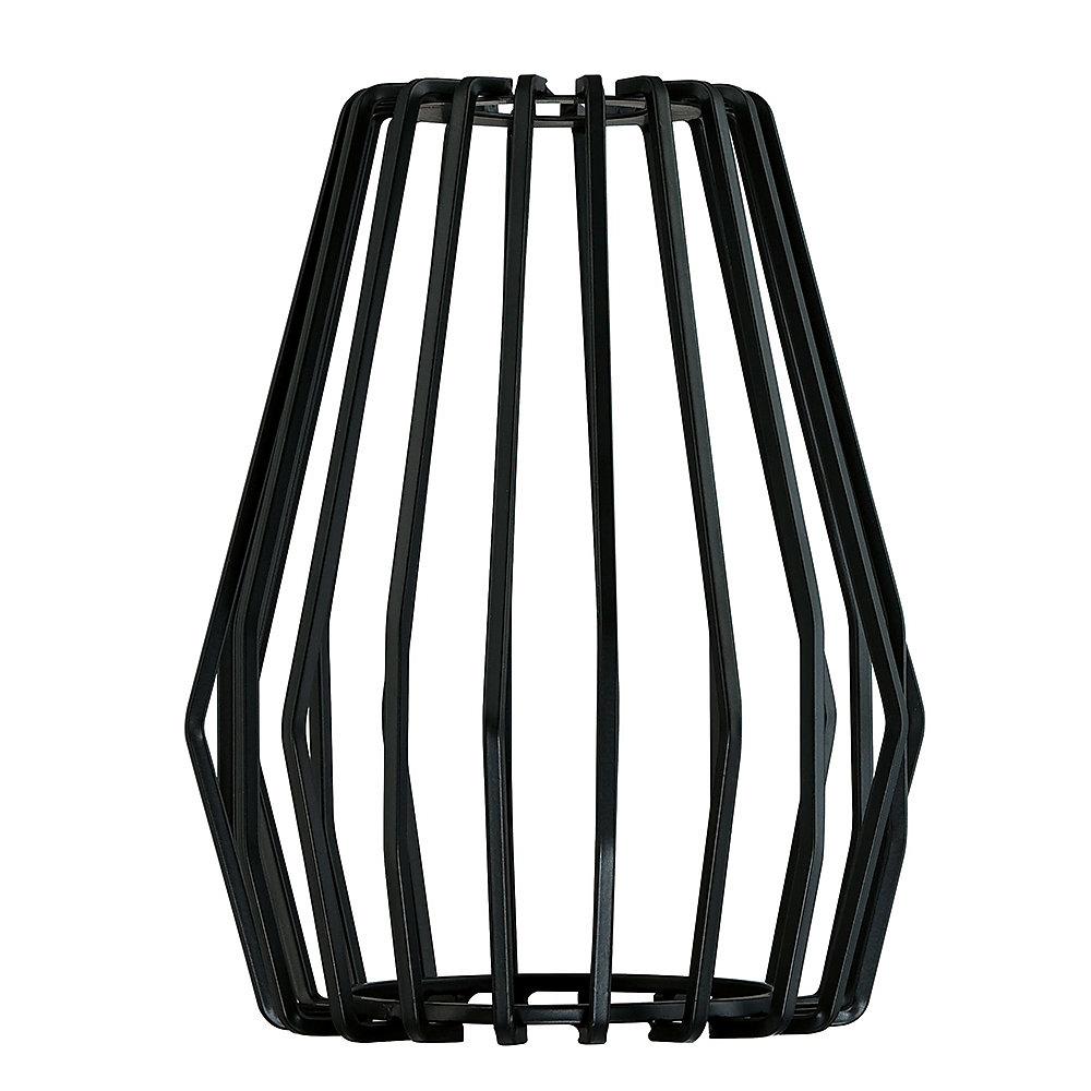 Cage vintage, noire mate