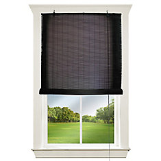 72 inch - 72 inch Corded Exterior Bamboo Roll Up Blind