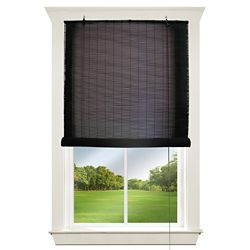 Hampton Bay 72 inch - 72 inch Corded Exterior Bamboo Roll Up Blind