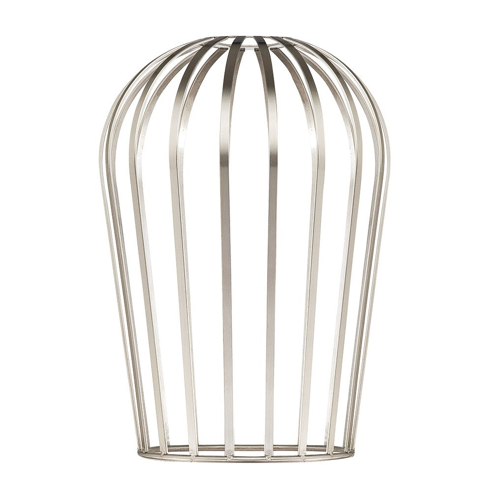 Westinghouse Tall Brushed Nickel Cage