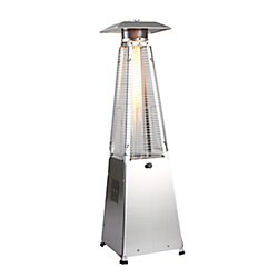 Zen-Temp 4-Sided Glass Tube Table Top Patio Heater