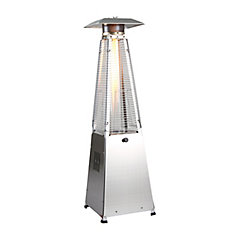 4-Sided Glass Tube Table Top Patio Heater