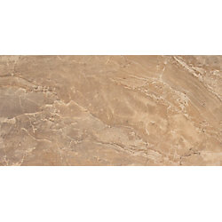 MSI Stone ULC Onyx Noche 12-inch x 24-inch Glazed Porcelain Floor and Wall Tile (16 sq. ft. / case)