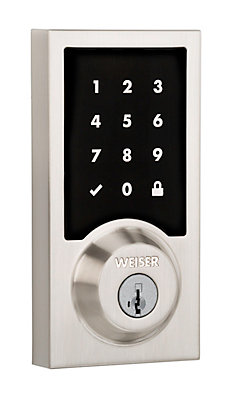 Weiser Serrure de porte intelligente à écran tactile Smartcode ...