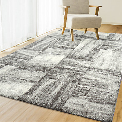 Orian Rugs Monaco Silver 7 Ft 10 Inch X Indoor Transitional Rectangular Area Rug The Home Depot Canada