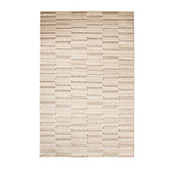 Cam Living Barrington Off-White 2 ft. 6-inch x 4 ft. 2-inch Indoor Contemporary Rectangular Area Rug