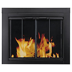 Ascot Small Glass Fireplace Doors