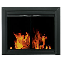 Carlisle Glass Firescreen Black - Small