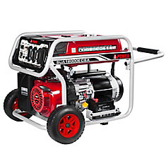 A- iPower SUA12000E CSA 12.000 watts essence alimenté générateur portable avec démarrage électrique .